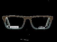 HOUSTON G161-2 HANDMADE matt green / brown