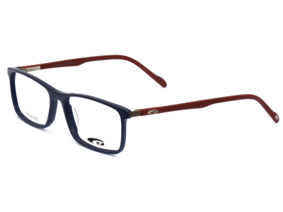 AUSTIN G571-3 HANDMADE navy blue / matt red