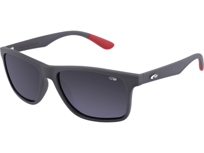OXNARD E202-3P ULTRALIGHT matt grey / red