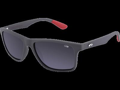OXNARD E202-3P ULTRALIGHT matt grey / red