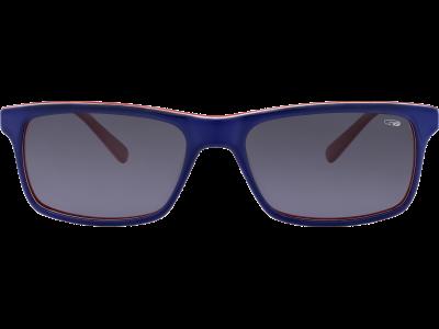 GRAN E927-3P HANDMADE navy blue / red