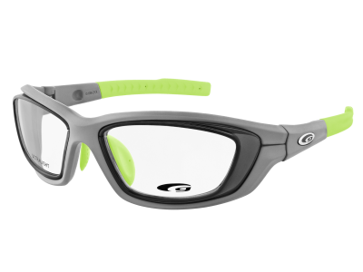 SPORTIVO G109-2 ULTRALIGHT matt grey / neon green