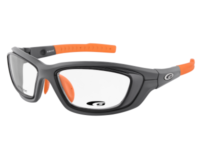 SPORTIVO G109-3 ULTRALIGHT matt dark grey / orange