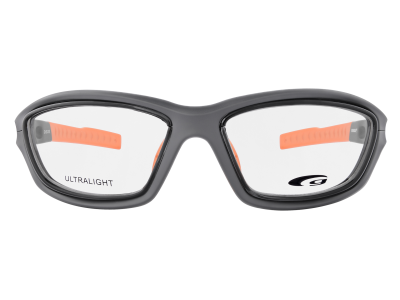 SPORTIVO G109-3 ULTRALIGHT matt dark grey / orange