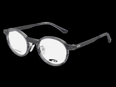 FRANK G123-1 HANDMADE matt grey demi / grey
