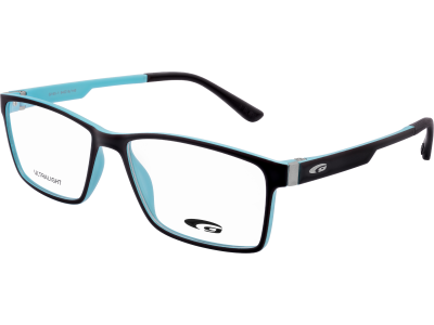 MADISON G165-1 ULTRALIGHT matt black / turquoise