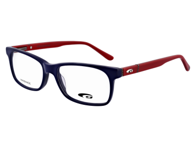 NORFOLK G172-2 HANDMADE navy blue / red