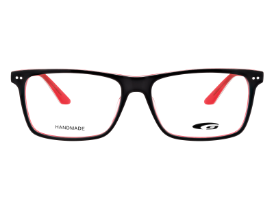 WILSHIRE G211-1 HANDMADE black / red