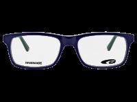 OMAHA G224-3 HANDMADE navy blue / green