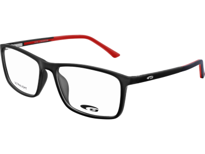 TULSA G232-1 ULTRALIGHT matt black / red
