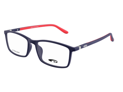 DAYTONA G323-2 ULTRALIGHT matt navy blue / red
