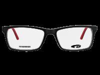 DENVER G357-1 HANDMADE matt black / red