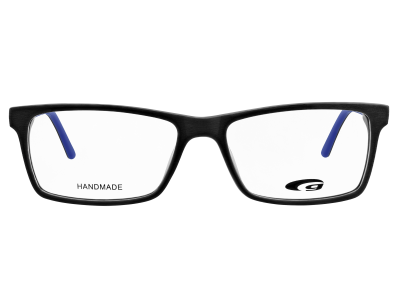DENVER G357-2 HANDMADE matt black / blue