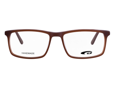 HAMPTON G405-3 HANDMADE matt brown / brown