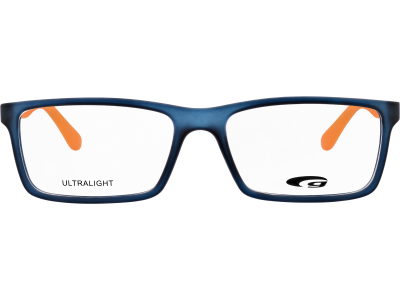 VIRGINIA G837-1 ULTRALIGHT matt navy blue / orange