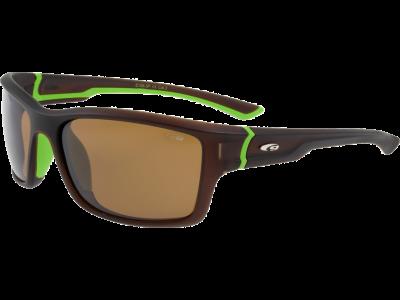 ALPHA E106-3P grilamid TR90 matt brown / green