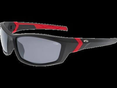 ARROW E111-2P polycarbonate matt black / red