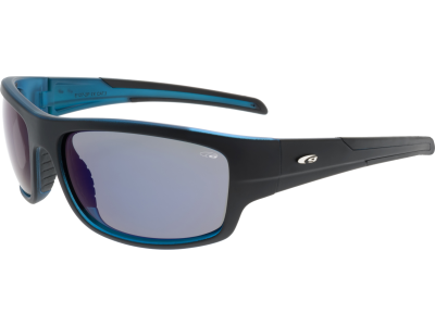 STRATOS E127-2P grilamid TR90 matt black / blue