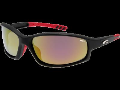 CALYPSO E128-2P grilamid TR90 matt black / red