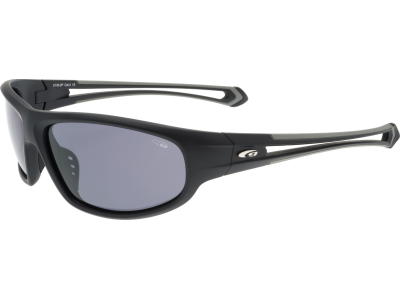 LENGER E130-2P polycarbonate matt black / grey