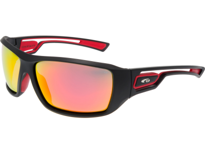 GABO E214-2P grilamid TR90 matt black / red