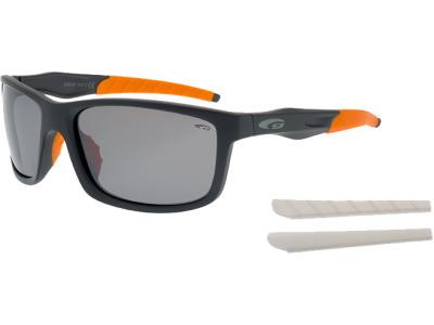 STYLO E363-2P polycarbonate matt grey / orange