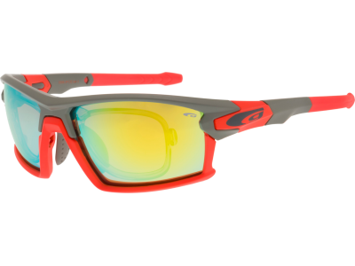 TANGO E558-3PR polycarbonate matt grey / neon orange