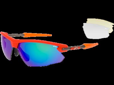 EPSILON E591-3 grilamid TR90 matt neon orange / gun