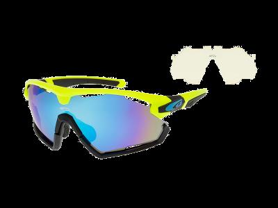 VIPER E595-2 grilamid TR90 neon yellow / black