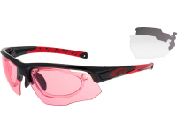 JUNO E636-2R polycarbonate black / red