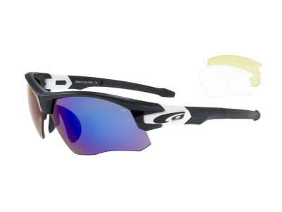WARRIOR E640-3 polycarbonate black / white