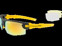 STENO E840-4 polycarbonate matt black / yellow