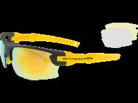 STENO E840-4R polycarbonate matt black / yellow