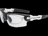 STENO T E843-3R polycarbonate matt black / white