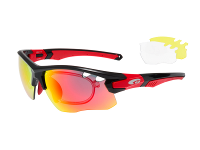 PREDATOR E858-3R polycarbonate black / red