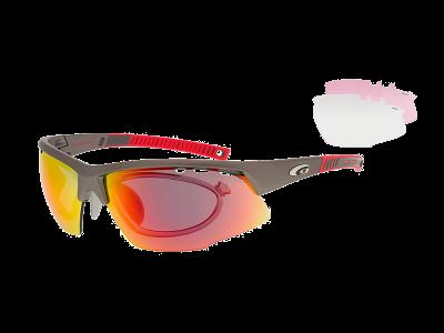FALCON XTREME E863-2R grilamid TR90 matt gun / red