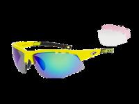 FALCON XTREME E863-4 grilamid TR90 neon yellow / black