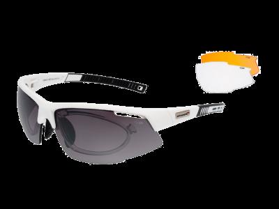 FALCON E865-3R grilamid TR90 white / black