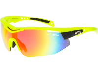 R-TYPE E874-2 grilamid TR90 neon yellow / black