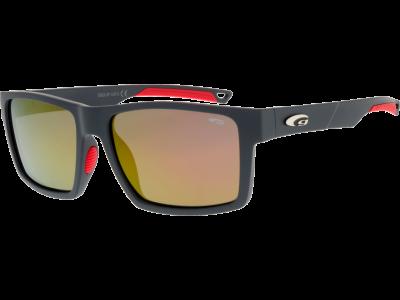 DEWONT E922-2P grilamid TR90 matt grey / red