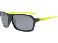 KIVO E923-4P polycarbonate matt grey / neon yellow