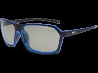 KIVO T E924-2P polycarbonate matt black / cristal blue