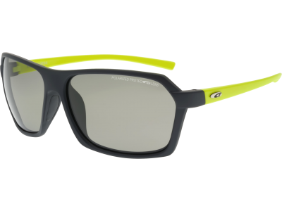 KIVO T E924-3P polycarbonate matt grey / neon yellow