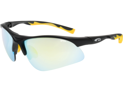BALAMI E992-2 grilamid TR90 matt black / yellow