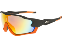 STORM T329-1 grilamid TR90 matt black/orange
