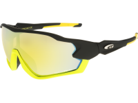 STORM T329-2 grilamid TR90 matt black/yellow