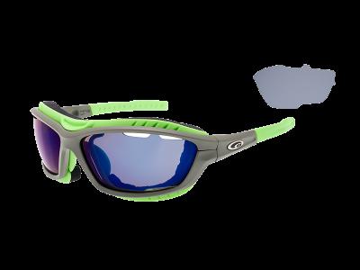 SYRIES T420-2 grilamid TR90 matt grey / neon green