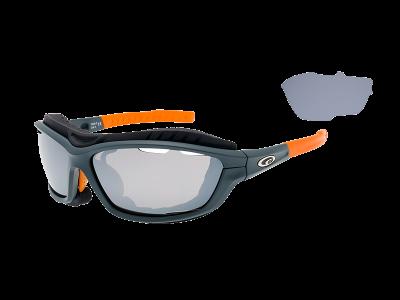 SYRIES T420-3 grilamid TR90 matt grey / neon orange