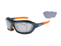 SYRIES T420-3R grilamid TR90 matt grey / neon orange