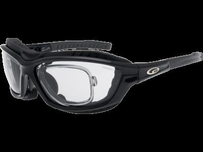 SYRIES T T421-1R grilamid TR90 black / grey